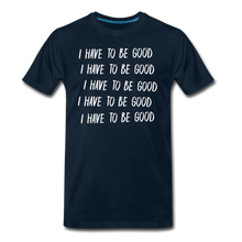 Load image into Gallery viewer, Evil Nun Be Good T-Shirt (Mens) - deep navy