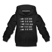 Load image into Gallery viewer, Evil Nun Be Good Hoodie - black