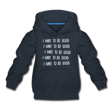 Load image into Gallery viewer, Evil Nun Be Good Hoodie - navy