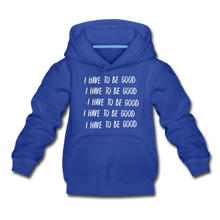 Load image into Gallery viewer, Evil Nun Be Good Hoodie - royal blue