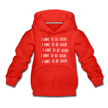 Load image into Gallery viewer, Evil Nun Be Good Hoodie - red