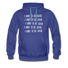 Load image into Gallery viewer, Evil Nun Be Good Hoodie (Mens) - royalblue
