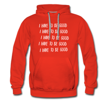 Load image into Gallery viewer, Evil Nun Be Good Hoodie (Mens) - red