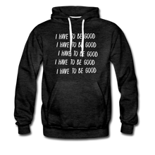 Load image into Gallery viewer, Evil Nun Be Good Hoodie (Mens) - charcoal gray