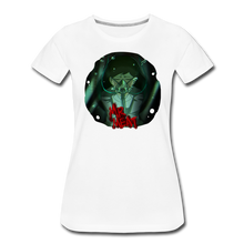 Load image into Gallery viewer, Mr. Meat Amelia T-Shirt (Womens) - white