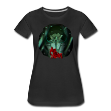 Load image into Gallery viewer, Mr. Meat Amelia T-Shirt (Womens) - black