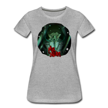 Load image into Gallery viewer, Mr. Meat Amelia T-Shirt (Womens) - heather gray