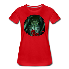 Load image into Gallery viewer, Mr. Meat Amelia T-Shirt (Womens) - red