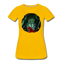 Load image into Gallery viewer, Mr. Meat Amelia T-Shirt (Womens) - sun yellow