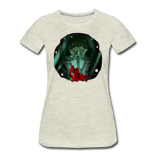 Load image into Gallery viewer, Mr. Meat Amelia T-Shirt (Womens) - heather oatmeal