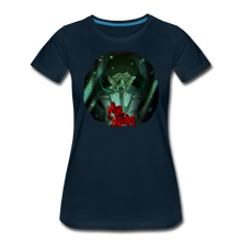 Load image into Gallery viewer, Mr. Meat Amelia T-Shirt (Womens) - deep navy