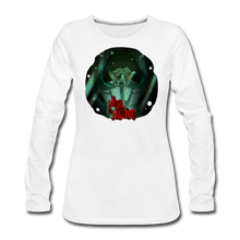 Load image into Gallery viewer, Mr. Meat Amelia Long-Sleeve T-Shirt (Womens) - white