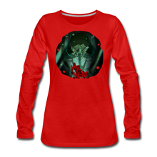 Load image into Gallery viewer, Mr. Meat Amelia Long-Sleeve T-Shirt (Womens) - red