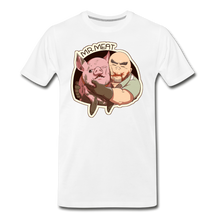 Load image into Gallery viewer, Mr. Meat Buddies T-Shirt (Mens) - white