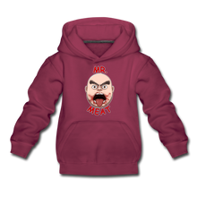 Load image into Gallery viewer, Mr. Meat Meathead Hoodie - burgundy