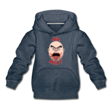 Load image into Gallery viewer, Mr. Meat Meathead Hoodie - heather denim