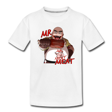 Load image into Gallery viewer, Mr. Meat T-Shirt - white