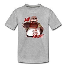 Load image into Gallery viewer, Mr. Meat T-Shirt - heather gray
