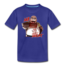 Load image into Gallery viewer, Mr. Meat T-Shirt - royal blue