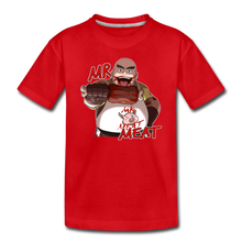 Load image into Gallery viewer, Mr. Meat T-Shirt - red