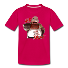 Load image into Gallery viewer, Mr. Meat T-Shirt - dark pink