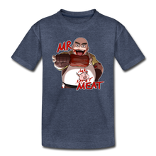 Load image into Gallery viewer, Mr. Meat T-Shirt - heather blue