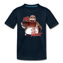 Load image into Gallery viewer, Mr. Meat T-Shirt - deep navy