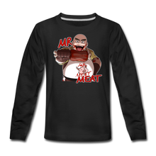 Load image into Gallery viewer, Mr. Meat Long-Sleeve T-Shirt - black