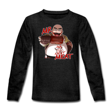Load image into Gallery viewer, Mr. Meat Long-Sleeve T-Shirt - charcoal gray