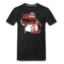 Load image into Gallery viewer, Mr. Meat T-Shirt (Mens) - black