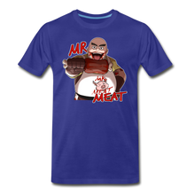 Load image into Gallery viewer, Mr. Meat T-Shirt (Mens) - royal blue