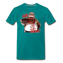 Load image into Gallery viewer, Mr. Meat T-Shirt (Mens) - teal