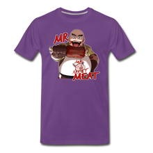 Load image into Gallery viewer, Mr. Meat T-Shirt (Mens) - purple