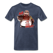 Load image into Gallery viewer, Mr. Meat T-Shirt (Mens) - heather blue