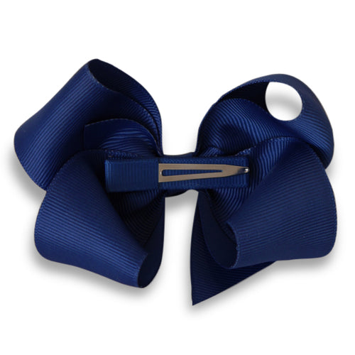 Bow's by Staer | 10cm Bow - Navy-Scandikid