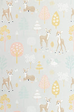 Majvillan | Wallpaper Golden Woods Soft Grey-Scandikid