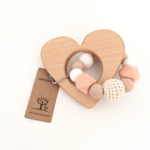 Nature Bubz | Teething Toy Heart-Scandikid