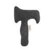 Konges Slojd | Activity Hand Hammer Rattle - Dark Grey-Scandikid