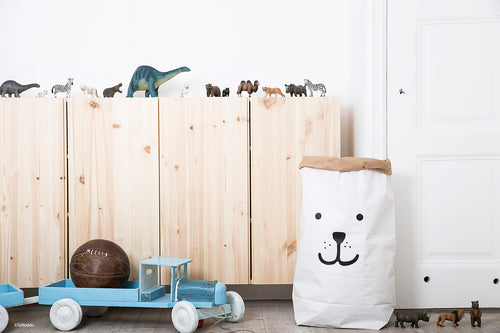 Tellkiddo | Paper Bag - Bear-Scandikid