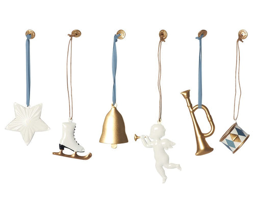 Maileg | Gold Vintage Ornaments Set-Scandikid