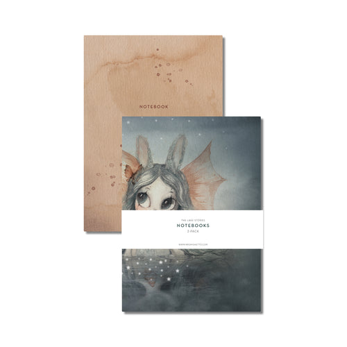 Mrs Mighetto | 'The Lake Stories' Notebooks 2-Pack Miss Bianca-Scandikid