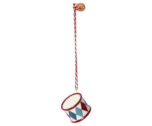 Maileg | Metal Drum Ornament-Scandikid