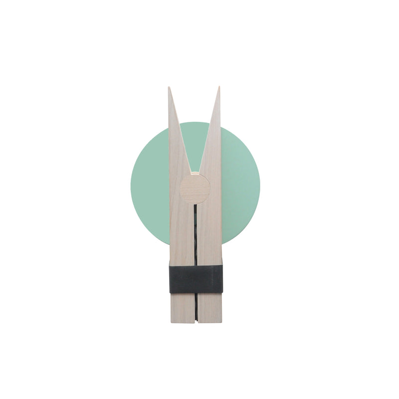 Lucie Kaas | Peggy Wall Clip - Mint Green-Scandikid