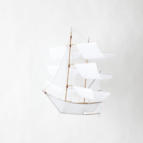 Haptic Lab | Sailing Ship Kite - White-Scandikid