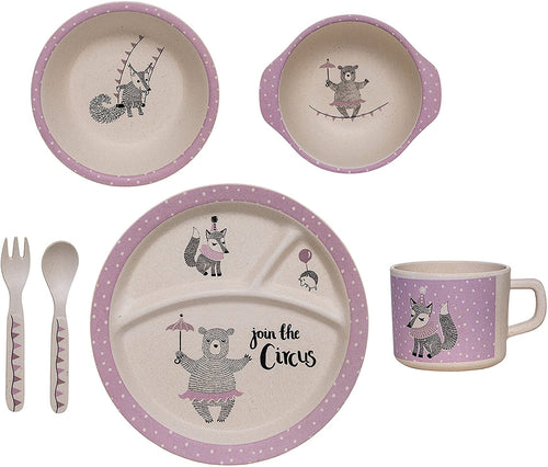 Bloomingville | Circus Serving Set Purple-Scandikid