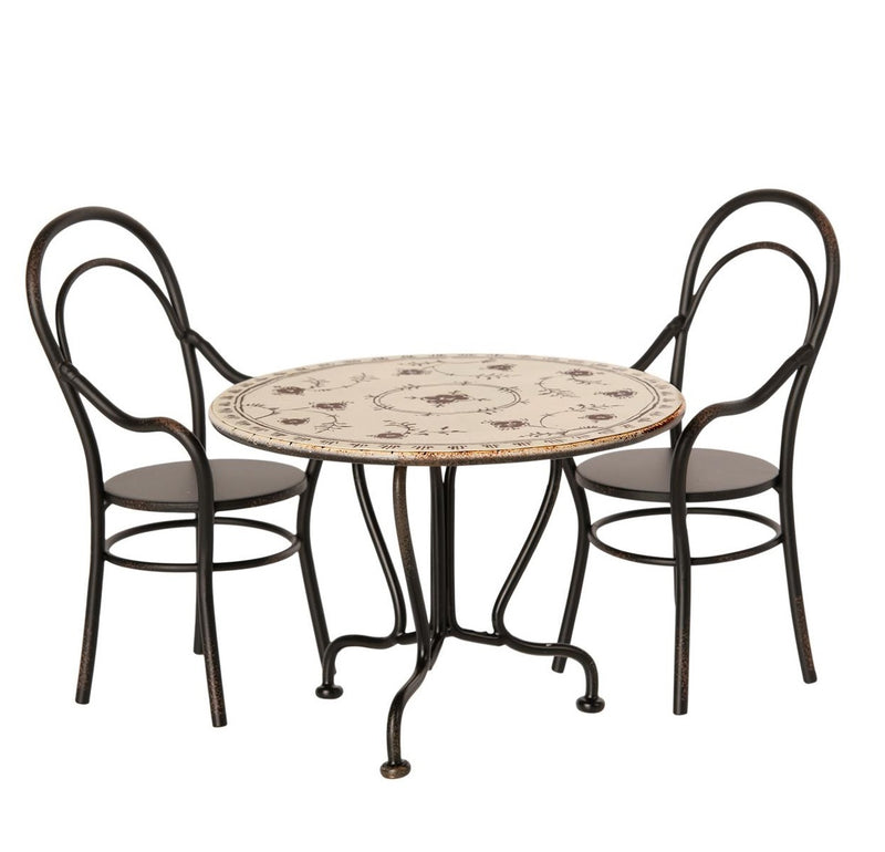 Maileg | Dining Table Set With Two Chairs-Scandikid