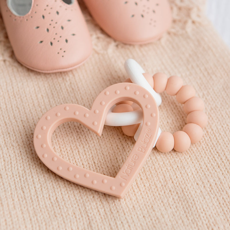 Nature Bubz | Meila Teether Peach-Scandikid