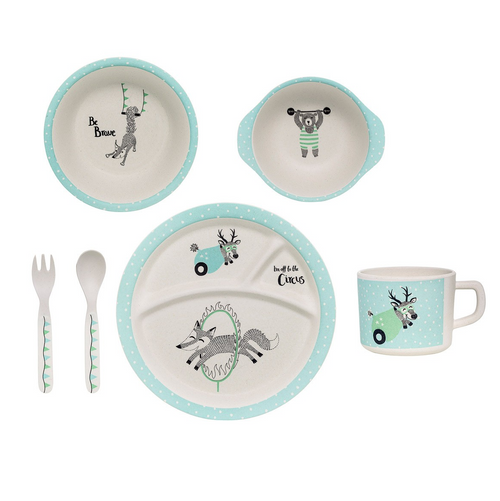 Bloomingville | Circus Serving Set Mint-Scandikid