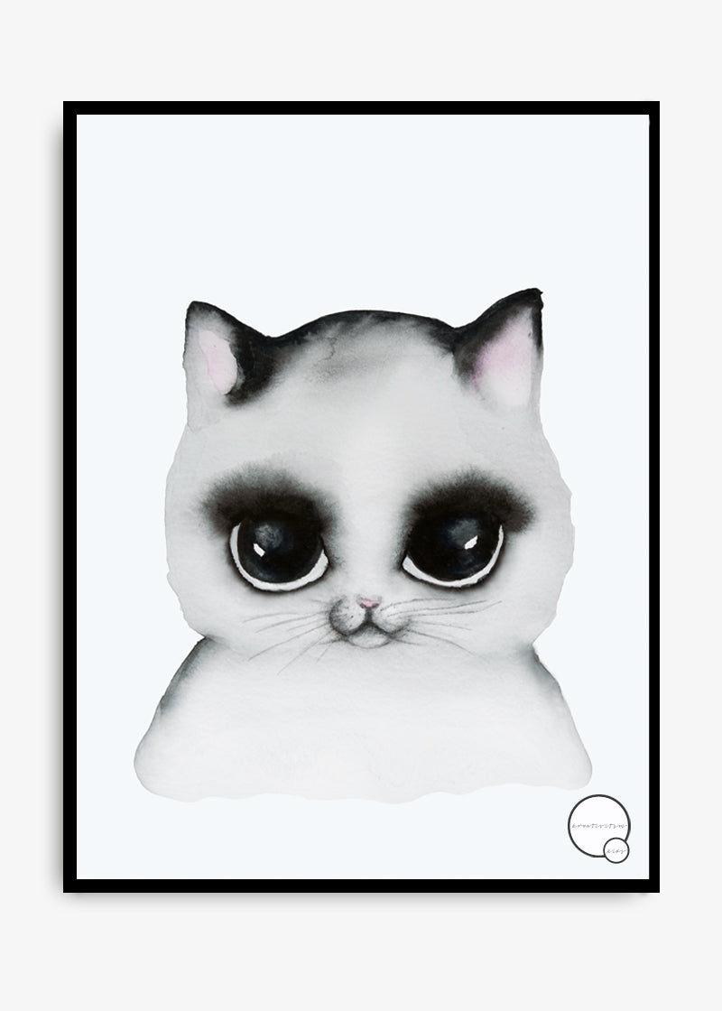 Kreativitum Poster | Cat (30x40cm)-Scandikid