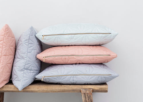 Cam Cam Copenhagen | Quilted Square Cushion Grey-Scandikid